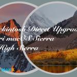 Hackintosh direct upgrade High Sierra