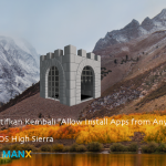 Allow install apps from anywhere
