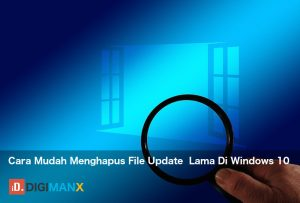 Menghapus file update Windows 10