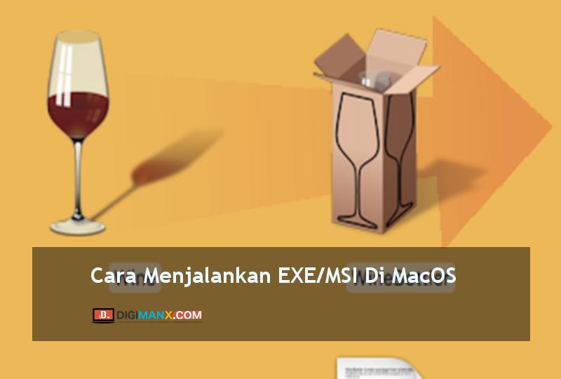Menjalankan exe di macOS